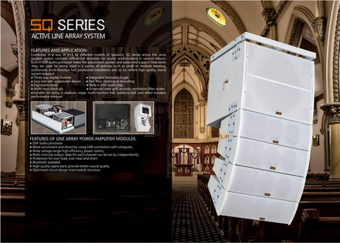 3 Way Line Array Sound System for Church Indoor And Outdoor