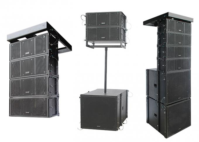 Portable Pro sound DJ Equipment 8 Inch Mini Outdoor Line Array Speakers 800W