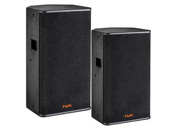 China 400W PA System Passive Speaker System 8ohm Full Range  Speaker With Black Paint supplier