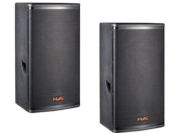China Powered 350W  PA Sound System Full Range Speaker Box Plywood Loudspeakers supplier