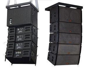 "China Dual 12"" 8ohm Three Way Line Array Live Music Speakers Neodymium Driver 500W RMS supplier"