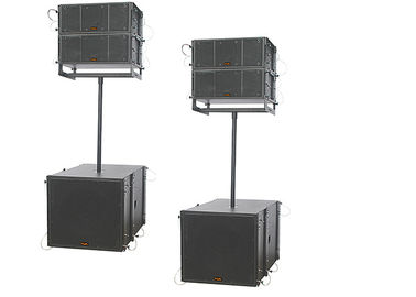 China Portable Pro sound DJ Equipment 8 Inch Mini Outdoor Line Array Speakers 800W supplier