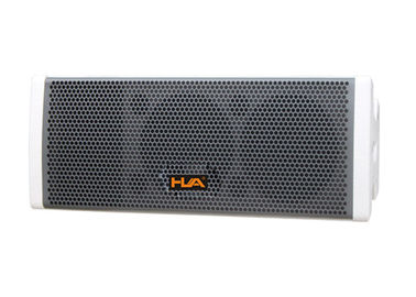 "China 200W Portable Sound System Active Line Array Speaker Dual 6.5"" 16ohm For Music Hall supplier"