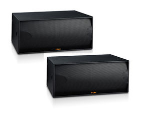 "China Powered Dual 18"" Church Speaker System Subwoofer 1200W CE / ROHS supplier"