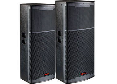 China Intdoor  Dual 15 Inch Subwoofer Speakers Dj Sound System for  Dance Hall supplier