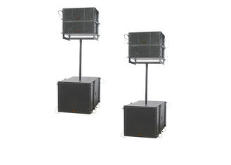 China 500W Portable Sound System Line Array Speakers With Dual 8 Inch Outdoor supplier
