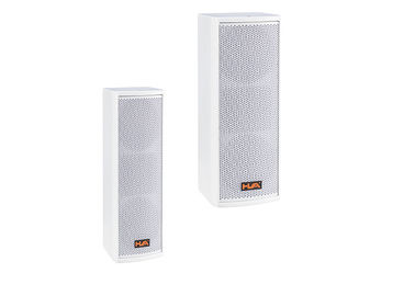 China 120 W Min 5 inch White Line Array Column Speaker For Pub DC Protection supplier