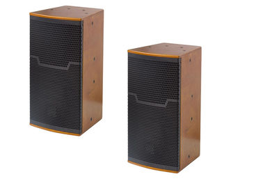 China 10 inch 350W Passive PA System Full Range Speakers for Indoor Performance supplier
