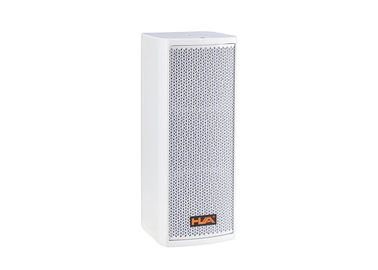 China White 16ohm 100W Line Array Column Speaker Conference Room Audio Systems LoudSpeaker factory