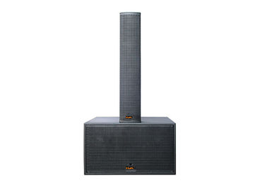 China Line Array  Passive Powered Column Speakers Black Paint For Stage Carvin factory