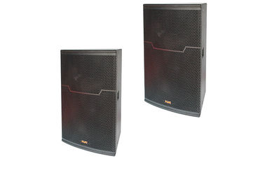 China Portable Home Karaoke Speakers two way 450W Disco Sound Equipment factory